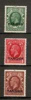 MOROCCO AGENCIES (TANGIER) 1934 - 1935 SET SG 235/237 MOUNTED MINT Cat £13.50 - Oficinas En  Marruecos / Tanger : (...-1958