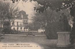 ***  75  ***  PARIS  Parc Montsouris Statue De La Vieilleusse - TTB écrite - Parks, Gardens