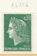 PIA - FRANCIA - 1970 : Uso Corrente - Marianna Di Cheffer  - (Yv 1611b) - Francia