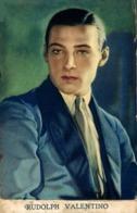 RUDOLPH VALENTINO. - Actores