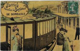 54  Dombasle J'arrive  Recevez Le Bonjour - France