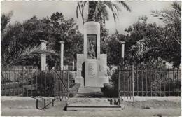 Algerie  Dombasle  Le Monument Aux Morts - Autres Villes