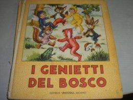 """LIBRO ILLUSTRATO DA MARIAPIA EDITRICE PICCOLI """" I GENIETTI DEL BOSCO """" COLLANA AURORA N.7 - Books, Magazines, Comics"""