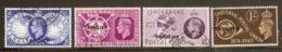 MOROCCO AGENCIES (TANGIER) 1949 UPU SET SG 276/279 FINE USED Cat £15 - Oficinas En  Marruecos / Tanger : (...-1958