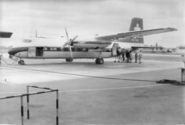 LE DART HERALD ESCALE A COPENHAGUE  PHOTO ORIGINALE FORMAT 24 X 18 CM - Aviation