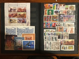 Poland 2000 Complete Year Set With Souvenir Sheets Basic MNH Perfect Mint Stamps. 65 Stamps And 7 Souvenir Sheets - Années Complètes