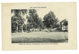 CPA 92 LA CROIX-DE-BERNY ROUTE DE CHOISY CONDUISANT AUX PRISONS DE FRESNES - Frankreich