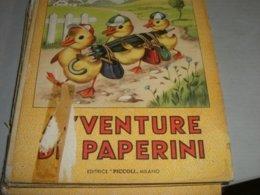 """LIBRO ILLUSTRATO DA MARIAPIA EDITRICE PICCOLI """" AVVENTURE DI PAPERINI"""" COLLANA AURORA N.2 - Books, Magazines, Comics"""