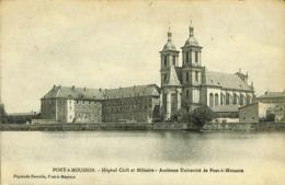 CPA - France - (54) Meurthe Et Moselle - Pont-à-Mousson -Hôpital Civil Et Militaire - Pont A Mousson
