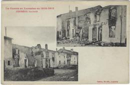 54  Herimenil Bombarde  Guerre  1914-1916 - Other Municipalities