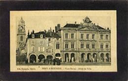 CPA - France - (54) Meurthe Et Moselle - Pont A Mousson - Place Duroc - Hôtel De Ville - Pont A Mousson
