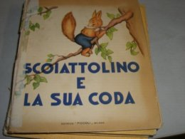"""LIBRO ILLUSTRATO DA MARIAPIA EDITRICE PICCOLI """" SCOIATTOLINO E LA SUA CODA"""" COLLANA AURORA N.1 - Books, Magazines, Comics"""
