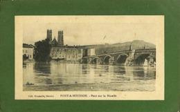 CPA - France - (54) Meurthe Et Moselle - Pont A Mousson - Pont Sur La Moselle - Pont A Mousson