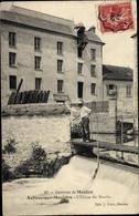 Cp Aulnay Sur Mauldre Yvelines, Écluse Du Moulin - Frankreich