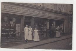 Elberfeld - Bäckerei-Conditorei Meier - Orig.Bromsilber-AK - 1908          (A-123-190410) - Wuppertal