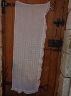 1 Rideau-.ancien -168x61 Cm De Large Volant Compris Pour Confectionner Robe Pour Poupee-- - Drapery