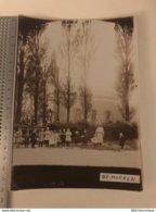 "Photo Originale ""Les Moëres"" - ""De Moeren"" - Gijvelde  Ghyvelde - Eglise Exterieure (  18 * 13 Cm ) - Dunkerque"