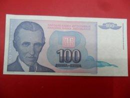 Yugoslavia-Jugoslavija 100 Dinara 1994, P-139a, Price For Both - Jugoslavia
