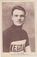 Piétro  LINARI  Vainqueur De Milan San Rémo 1924 - Cycling