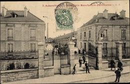 Cp Aubervilliers Seine Saint Denis, Manufacture D'Allumettes - France
