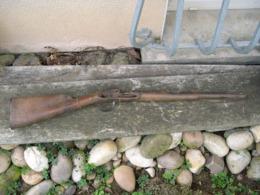 Reste De Fusil  D'Officier D'Infanterie Ancien Régime - Decorative Weapons