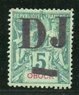 SOMALIS - YT N° 1 Signé Calves - Neuf * - MH - Cote: 200,00 € - Côte Française Des Somalis (1894-1967)