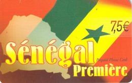 Carte Prépayée - SENEGAL PREMIERE - 7.5 € - Andere Voorafbetaalde Kaarten