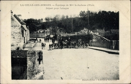Cp La Celle Les Bordes Yvelines, Chasse à Cour, Équipage De La Duchesse D'Uzès - Francia
