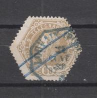 COB 5 Oblitéré LOUVAIN (Poste) - Telegraph