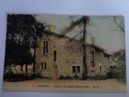 Domrémy - Maison Où Naquit Jeanne D'Arc - Bâtiments & Architecture