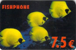 Carte Prépayée - FISHPHONE - 7.5 € - Frankrijk