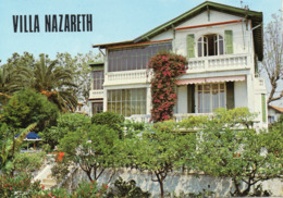 DEPT 06 : Cros De Cagnes , Villa Nazareth ( Carte Double Publicitaire ) - Cagnes-sur-Mer