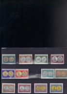 ORDRE DE MALTE 56/61** + 152/157** SUR LES ANCIENNES MONNAIES - Malte (Ordre De)