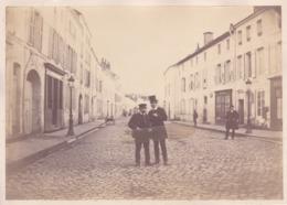 Photographie 88 Vosges  Remiremont Grande Rue 1890( 191101) - Places