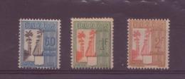 Guadeloupe N° 38 à 40** TAXE - Guadeloupe (1884-1947)