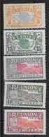 ⭐ Réunion - YT N° 84 / 87 / 90 / 91 / 92 ** - Neuf Sans Charnière - 1922 / 1926 ⭐ - Ungebraucht