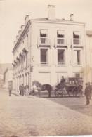Photographie 88 Vosges  Remiremont Grande Rue Superbe Attelage Des Services De La Poste  1890 ( 191103) - Places