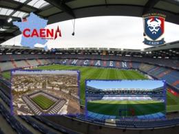 CAEN Stade Michel D'Ornano Stadium Estadio - Caen