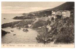 CPA 83 - LE TRAYAS (Var) - 12. Corniche D' Or - Hôtel De La Réserve - LL - TTBE - Other Municipalities