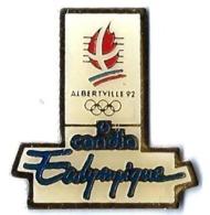 JO ALBERTVILLE 92 - CC7 - CLUB COUBERTIN - CANDIA - ECOLYMPIQUE - Verso : C COJO/1991 - Olympic Games