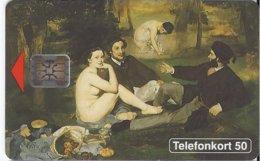 SWEDEN - PAINTING - Edouard Manet I / Luncheon On The Grass 1863 - 5.000EX - Schweden