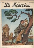 Le Sourire N°24 - 13.06.1912 - Gervèse Marine Matelot - Bus De Paris - Peintre Du Dimanche - Books, Magazines, Comics