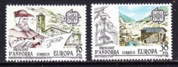 Europa Cept 1983 Andorra Sp. 2v ** Mnh (44954G) - 1983