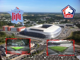 LILLE VILLENEUVE D'ASCQ Stade Pierre Mauroy Stadium Estadio - Lille