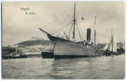 """Napoli. Il Porto. """"Sicilian Prince"""" - Commercio"""