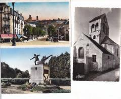 22 CP  VILLAGE DE L AISNE - Postcards