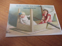 Chromo, Biscuits Victoria Bruxelles - Trade Cards