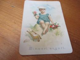 Chromo, Sinceri Auguri - Trade Cards