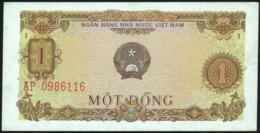 VIETNAM Viet Nam - 1 Dong 1976 {Ngan Hang Nhà Nu'oc Viet Nam} AU P.80 - Vietnam