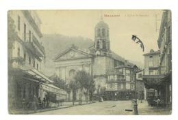 CPA 81 MAZAMET L'EGLISE ST-SAUVEUR - Mazamet